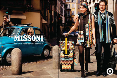 Missoni for Target Luggage and more