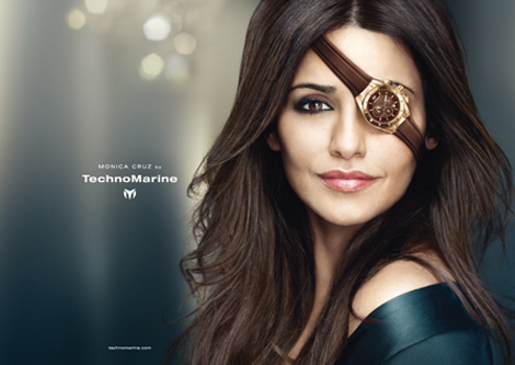 Monica Cruz, Andres Velencoso Segura Watch Pirates For TechnoMarine Campaign