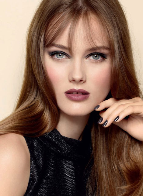 Monika Jagaciak Chanel Beauty Fall Winter 2012 2013 ad campaign