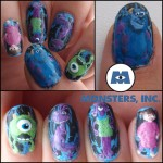 Monsters Inc manicure