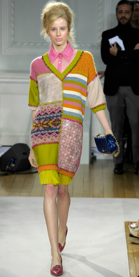 Retro Game: Moschino Cheap And Chic Fall 2012