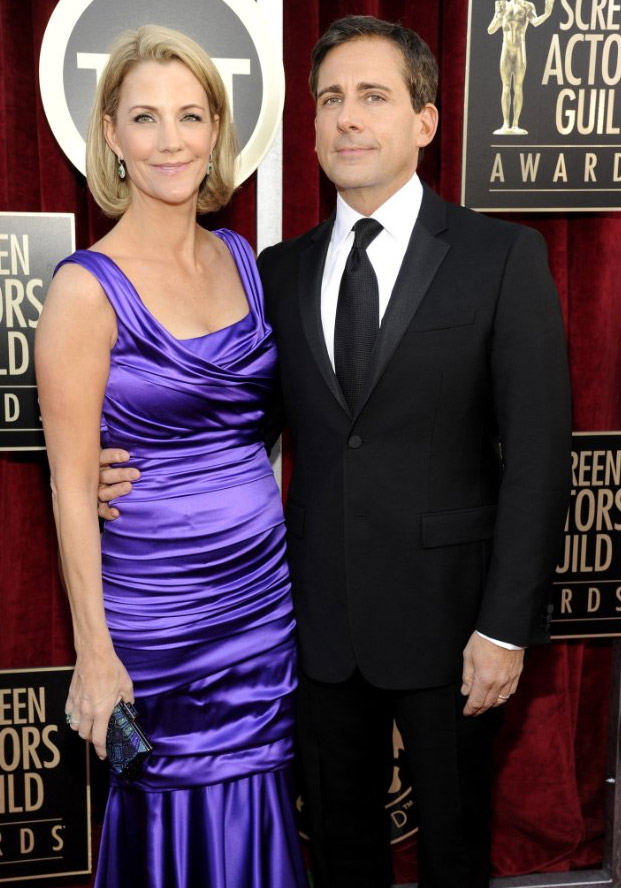 Nancy Carell and Steve Carell 2012 SAG Awards