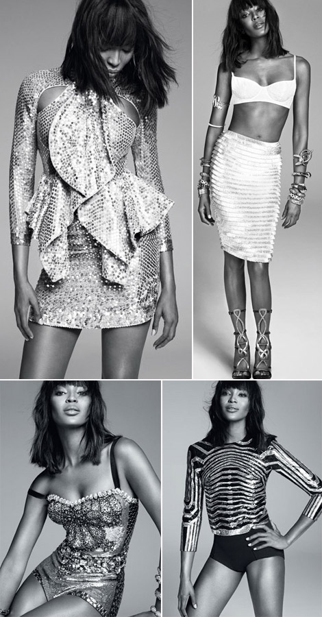 Naomi Campbell Rocks In New Harper's Bazaar Pictorial