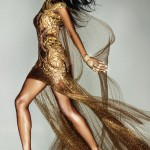 Naomi Campbell McQueen dress for the Olympics Closing Ceremony Vogue