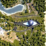 Naomi Campbell eye of Horus dome house