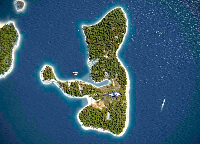 Naomi Campbell eye of Horus dome house Turkey island