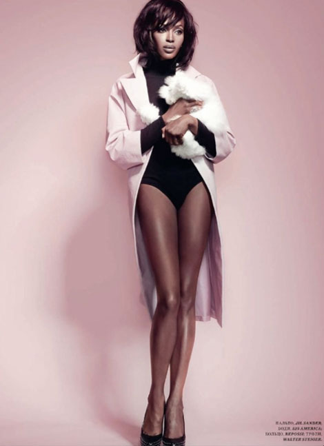 Naomi Campbell looking flawless for Harper s Bazaar Russia