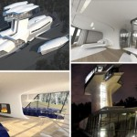 Naomi Campbell s Russian spaceship home