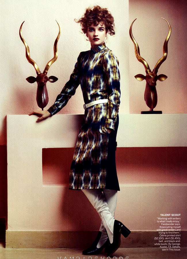 Natalia Vodianova Vogue May 2012