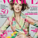 Natalia Vodianova Vogue UK December 2012 cover by Mario Testino