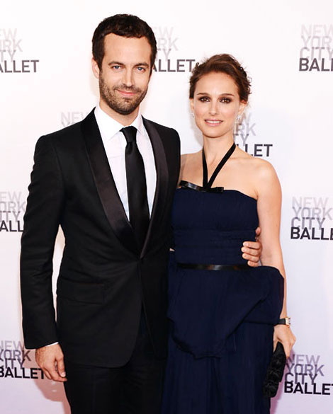 Natalie Portman Benjamin MIllepied married