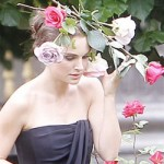 Natalie Portman filming new Miss Dior Cherie Ad campaign