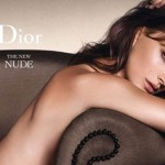 Natalie Portman forgets her clothes for Dior foundation