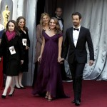 Natalie Portman purple Rodarte dress 2011 Oscars 1