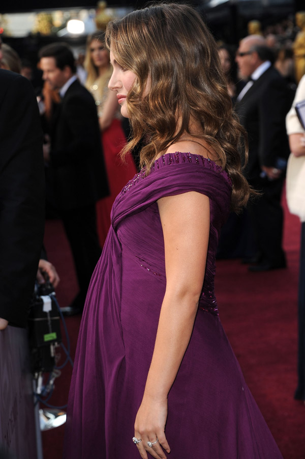 Natalie Portman purple Rodarte dress 2011 Oscars 3