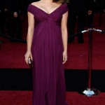 Natalie Portman purple dress 2011 Oscars