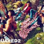 Natasha Poly DSquared2 Spring Summer 2012 ad campaign