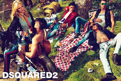 DSquared2 Spring Summer 2012 Ad Campaign Looks Picnic – Weird
