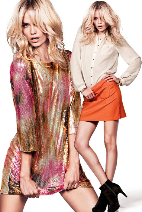 Natasha Poly For H&M Fresh Start 2012 Ad Campaign
