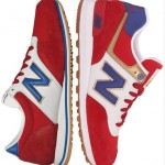New Balance 420 and 574 Road to London Red