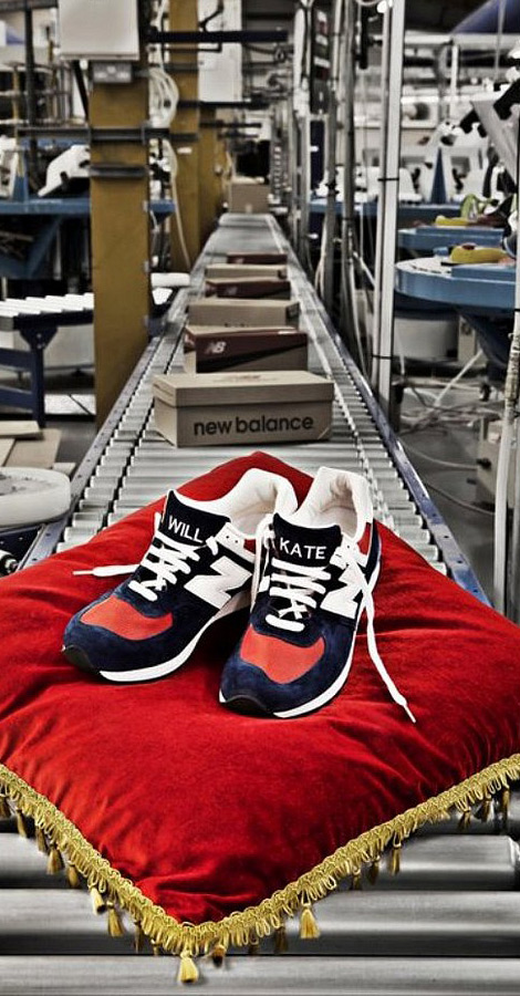 New Balance 576 Royal Wedding limited edition sneakers
