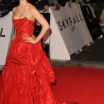 New Bond Girl Berenice Marlohe Skyfall Vivienne Westwood red dress