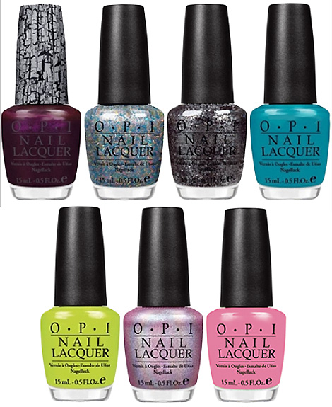 Nicki Minaj OPI Nail Polish collection