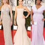 Nicole Kidman Kate Beckinsale Octavia Spencer pale dresses 2012 Golden Globes