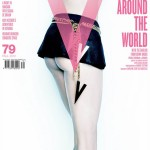 Nicole Kidman cheeky V Magazine unfold cover