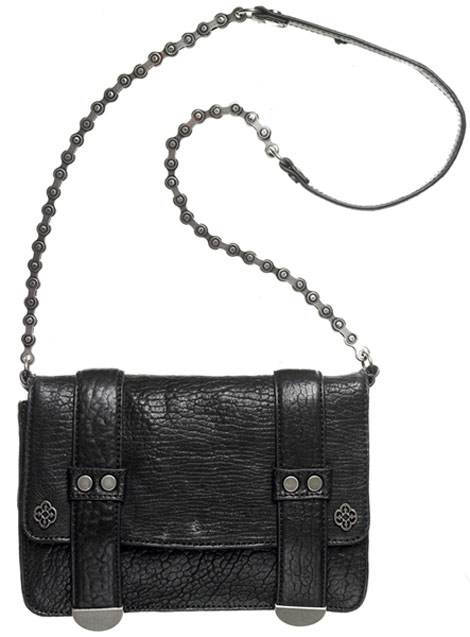 Nicole Miller bike chain Addison Caino bag
