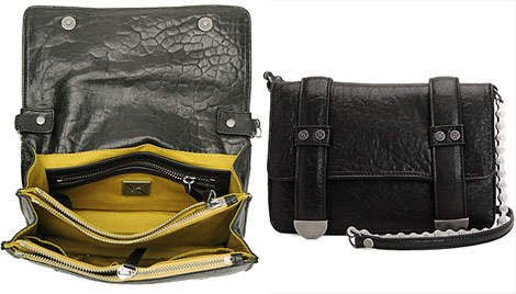 Nicole Miller bike chain cross bag