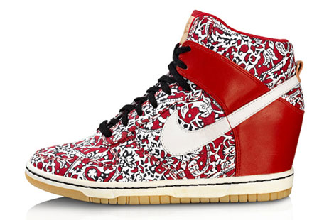Nike Wedge Sneakers Liberty London