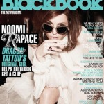 Noomi Rapace Blackbook magazine December 2012 cover