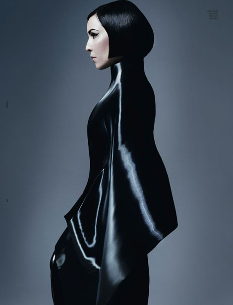 Noomi Rapace Dazed and Confused June 2012 photographed by Solve Sundsbo