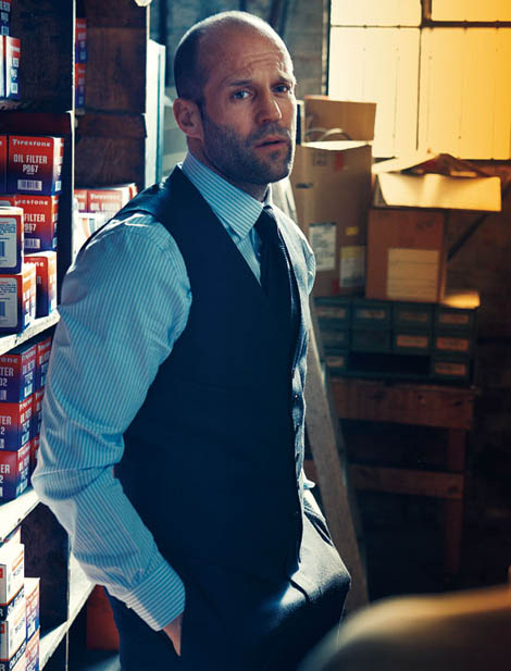 Norman Jean Roy photographed Jason Statham