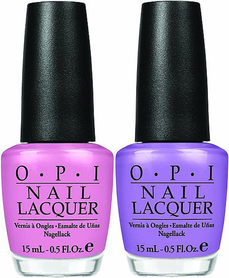 OPI 2011 Pirates nail lacuer collection
