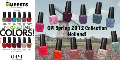 OPI New Nail Polish Collections The Muppets The Netherlands