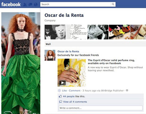 Oscar De La Renta Is Selling Rings On Facebook. Would You Buy?