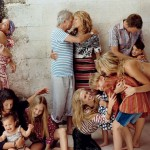 Patti Hansen Keith Richards and their family