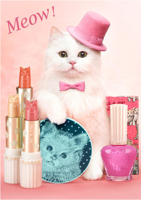 Paul and Joe Spring 2012 cats makeup collection