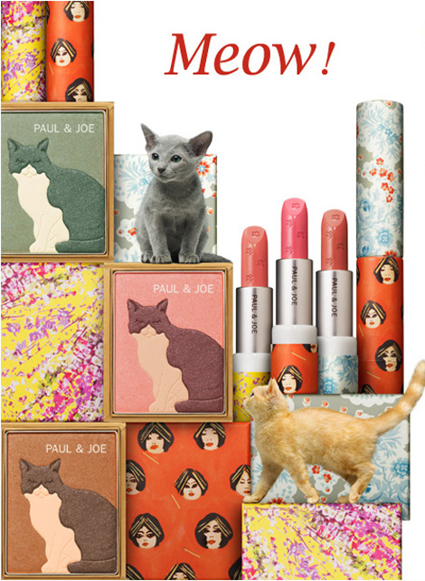 People Who Love Cats, Love Paul & Joe's Cats Makeup Collection Spring 2012