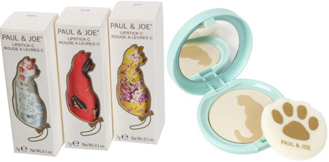 Paul and Joe spring 2012 makeup shaped like cats