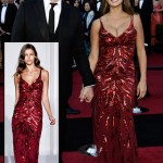 Penelope Cruz red l wren Scott dress 2011 Oscars