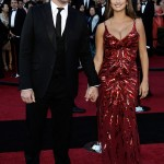 Penelope Cruz red L Wren Scott dress 2011 Oscars 2