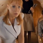 Pepper Potts Avengers Airplane scene Gwyneth Paltrow Tom Ford dress