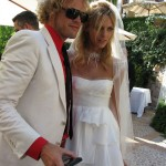 Peter Dundas Anja Rubik wedding
