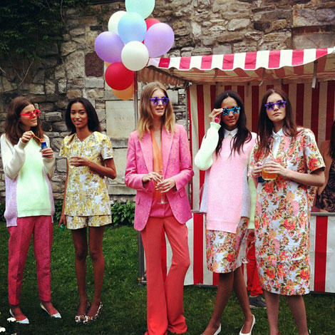 Pink Garden Party Stella McCartney Resort 2013 collection