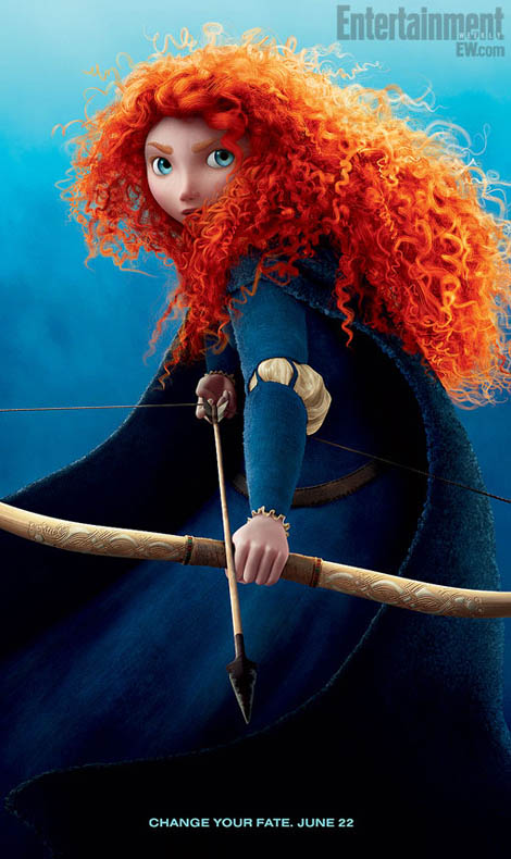 Brave Curly (Red)Heads. Pixar's Summer Movie