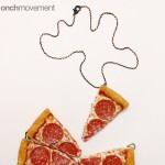 Pizza Necklace onchmovement