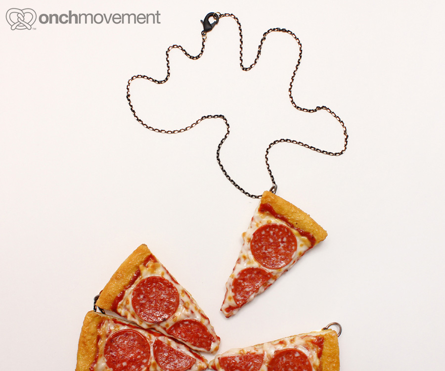 Dare To Wear Fried Chicken, Bacon And Pizza Jewelry By Onchmovement?